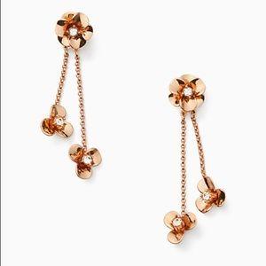 Kate Spade Shine On Flower Ear Jacket Earrings